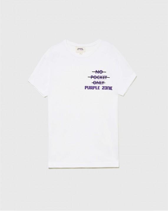 "T-Shirt ""No pocket only PurpleZone"""