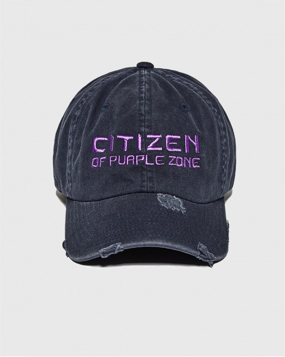 "Cap ""Citizen of PurpleZone"""
