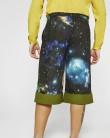 Space print pants