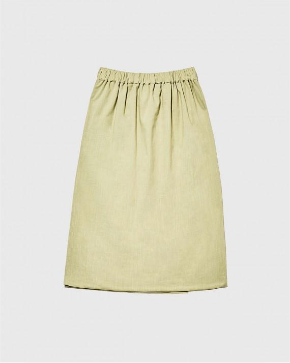 Men's skirt with belt